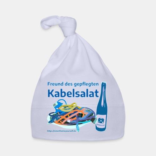 Freund des gepflegten Kabelsalat - Comic - Baby Mütze