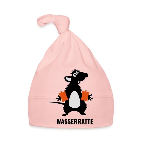 Wasserratte mit Schwimmflügeln - Baby Mütze