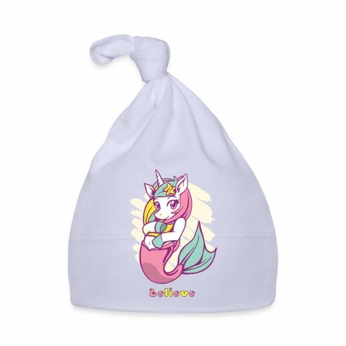 Meerjungfraucorn - Baby Mütze