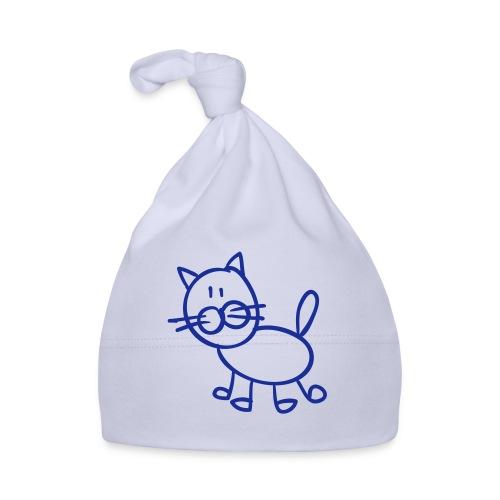 Tomcat Line Drawing Pixellamb - Baby Mütze