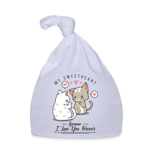 kotki - Czapeczka niemowlęca