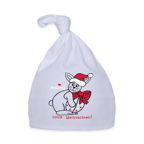 Weihnachtsmann als verkleideter Osterhase - Baby Mütze