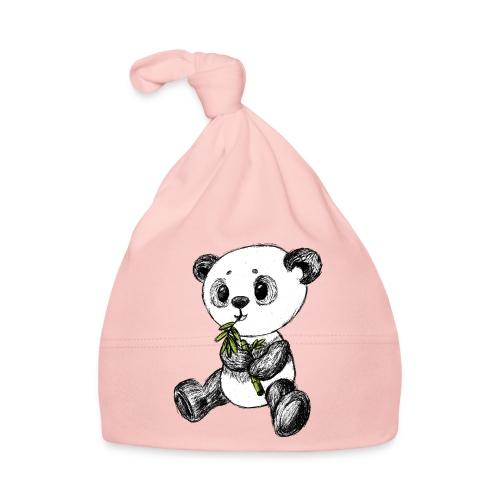 Panda Bär farbig scribblesirii - Baby Mütze