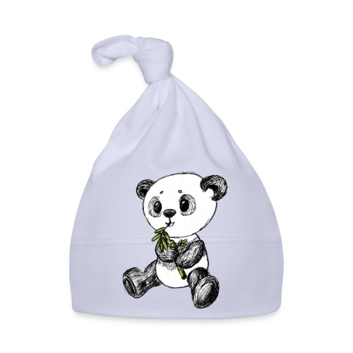Panda bear colored scribblesirii - Baby Cap