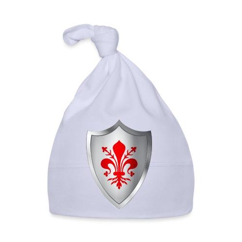 Stemma scudo con giglio di Firenze - Cappellino neonato