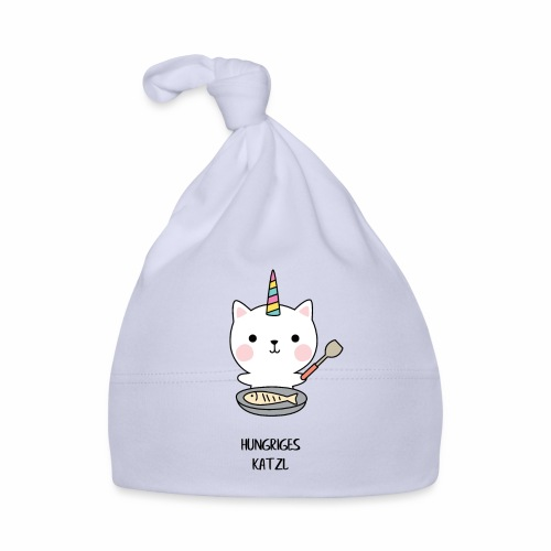 Hungriges Katzl - Baby Mütze