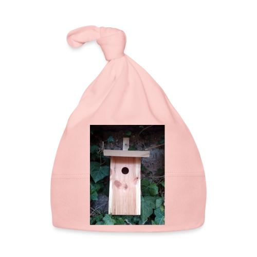 Der Nistkasten - Luxus für den Garten-Vogel - Baby Mütze
