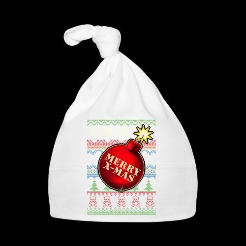 Merry X-Mas Christbaumkugel-Bombe - Baby Mütze