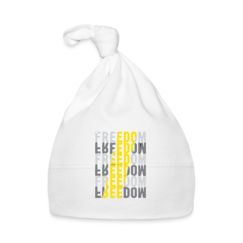 Freedom - Freiheit - Baby Mütze