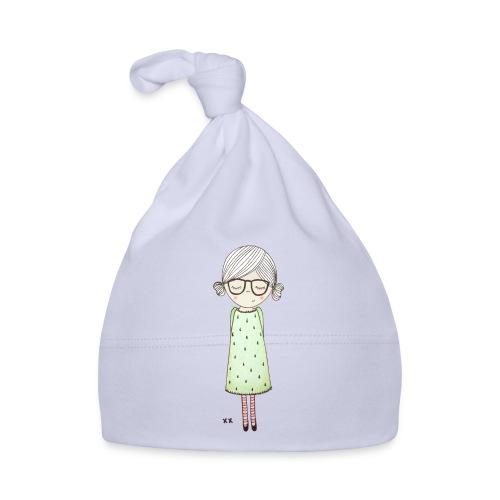 meisje met bril - Muts voor baby's