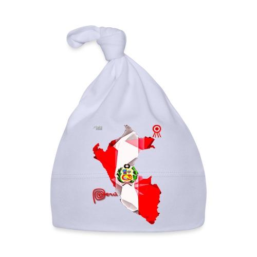 Mapa del Peru, Bandera und Escarapela - Baby Mütze