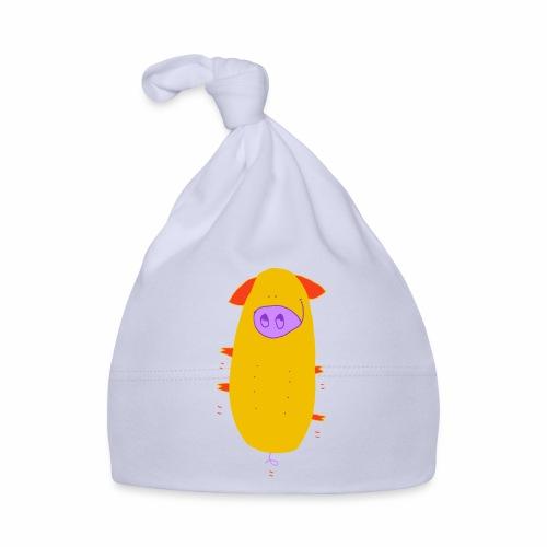 springend varken - kleur / bouncing pig - colour - Muts voor baby's