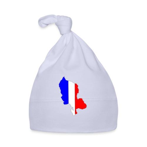 Carte Territoire de Belfort bleu blanc rouge - Bonnet Bébé
