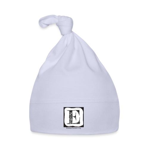 Logo ErrareUmano (scritta nera) - Cappellino neonato