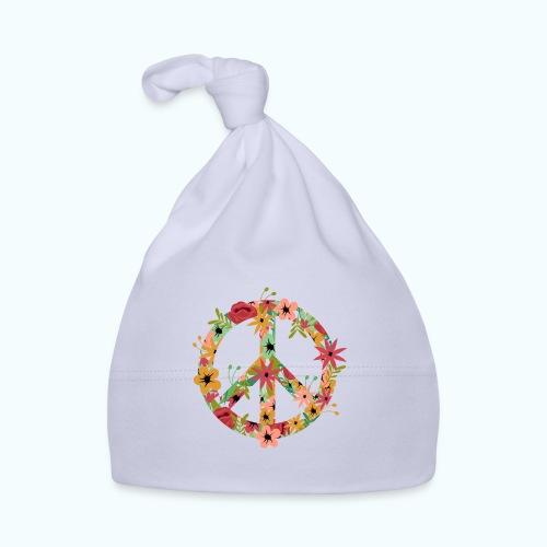 Peace Hippie Flower Power - Baby Cap