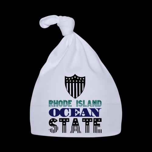 rhode island ocean state - Baby Cap