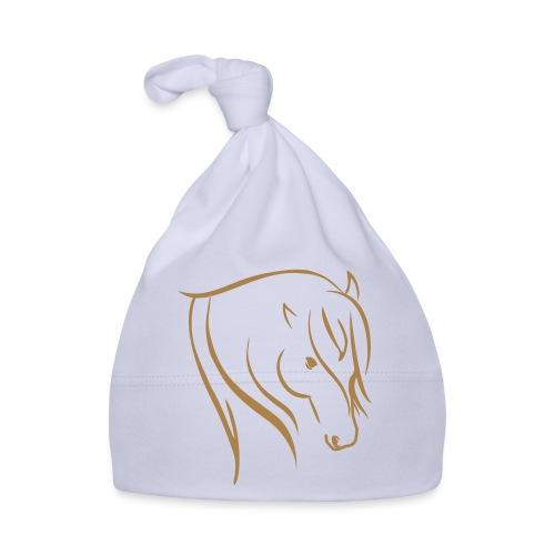 Pferdekopf Motiv Reitbekleidung - Baby Mütze