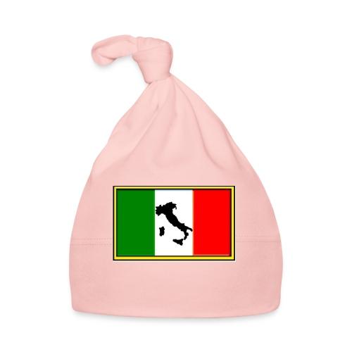 Bandiera Italiana2 - Cappellino neonato
