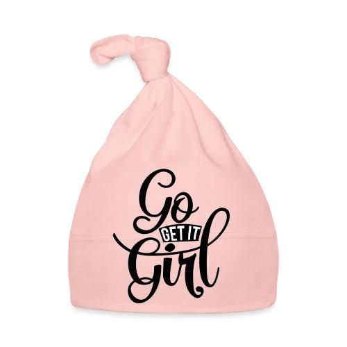 Go get it girl opdruk - Muts voor baby's