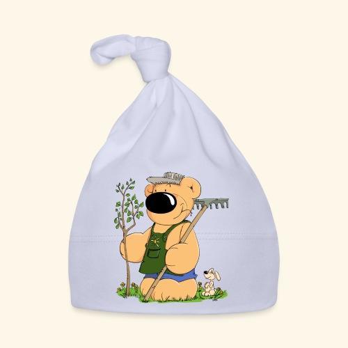 Gärtner Bär - Baby Mütze