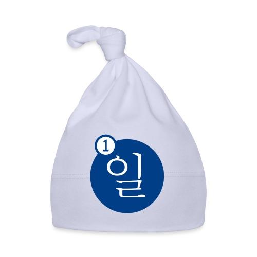 Uno en coreano - Gorro bebé