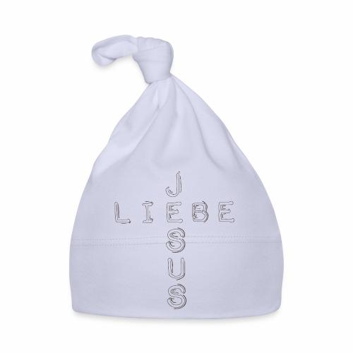 LIEBE JESUS - schwarz - Baby Mütze