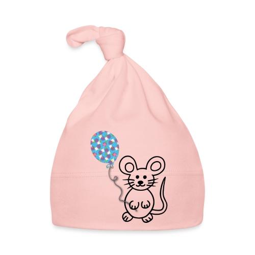 Maus, Luftballon - Baby Mütze