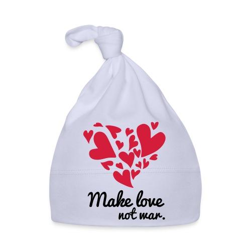 Make Love Not War T-Shirt - Baby Cap