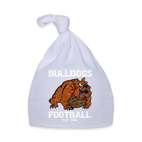 retro bulldogs football - Baby Mütze