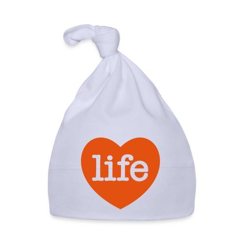 LOVE LIFE heart - Baby Cap