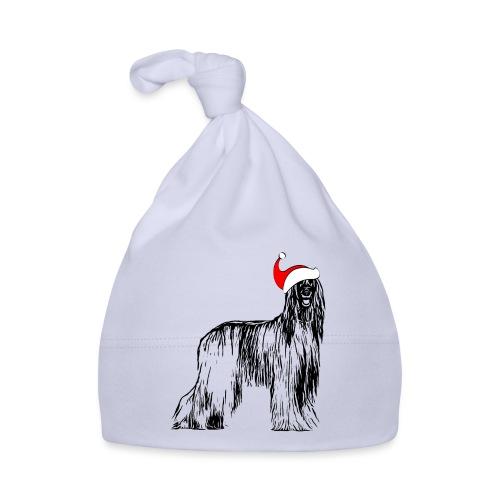Weihnachten Afghanischer WindhundHund Geschenk - Baby Mütze