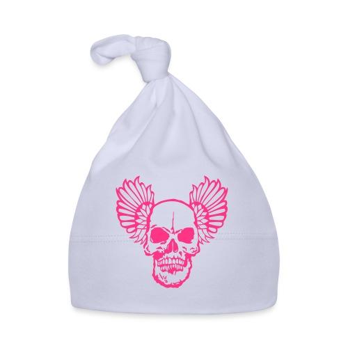 tete mort aile wing2 skull head dead1 - Bonnet Bébé