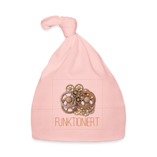Zahnräder shirt - Baby Mütze