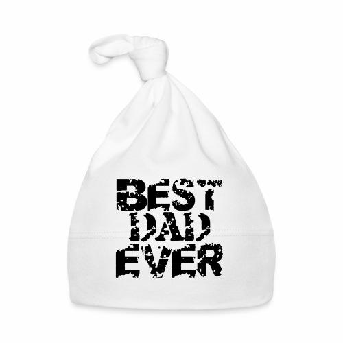 Black Best Dad Ever - Baby Mütze