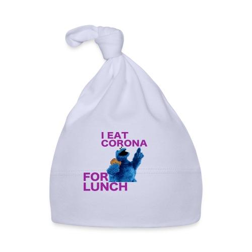 I eat corona for lunch - coronavirus shirt - Muts voor baby's