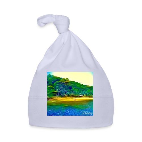 Tropical beach - Cappellino neonato