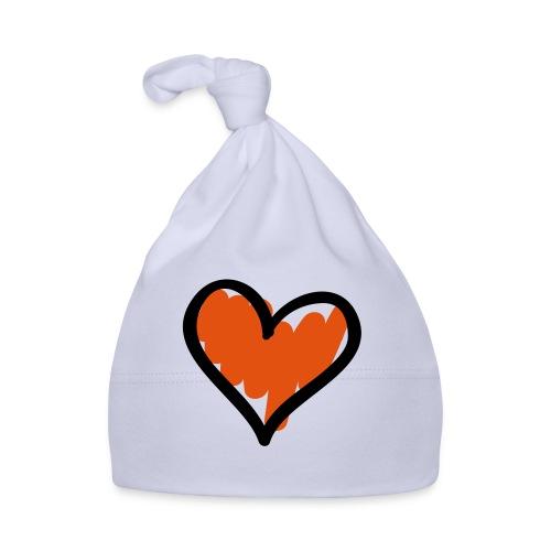 Heart Symbol Pixellamb - Baby Mütze