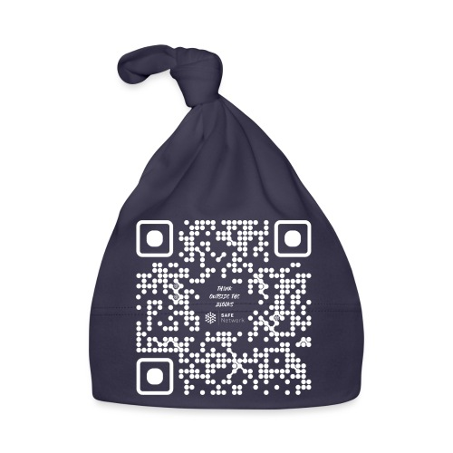 QR The New Internet Should not Be Blockchain Based W - Baby Cap