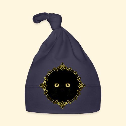 Badge Chat Noir - Pixel Art - Bonnet Bébé