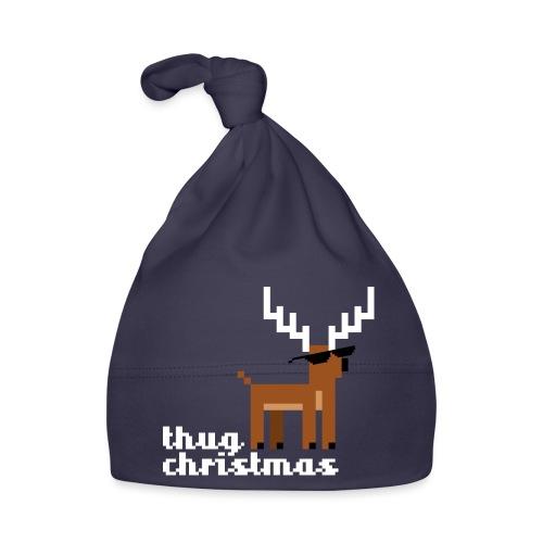 Christmas Xmas Deer Pixel Funny - Baby Cap