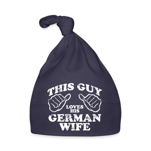 This Guy loves his german wife - Czapeczka niemowlęca