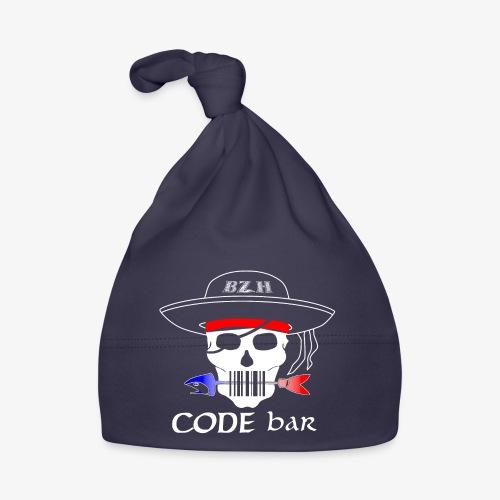 Code Bar white - Bonnet Bébé