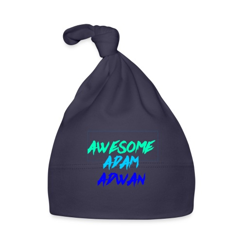 the awesome adam merch - Baby Cap