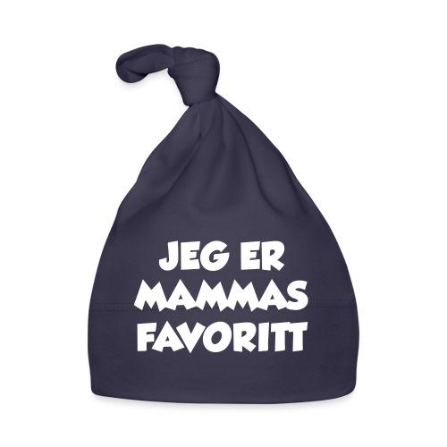 «Jeg er mammas favoritt» (fra Det norske plagg) - Babys lue