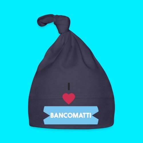 I LOVE BANCOMATTI CUOREnero - Cappellino neonato