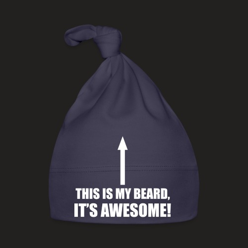 MY BEARD.png - Baby Cap