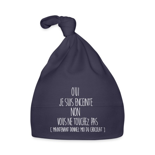 T-Shirt-Femme-Enceinte - Bonnet Bébé