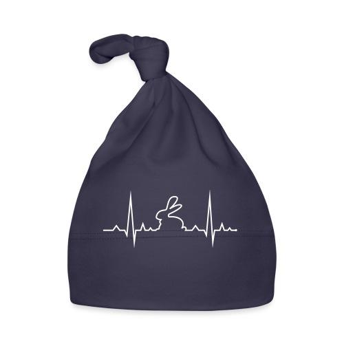 EKG Herzschlag Hase Kaninchen Zwergkaninchen - Baby Mütze