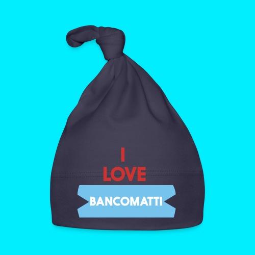 I LOVE BANCOMATTI VerROSSO - Cappellino neonato