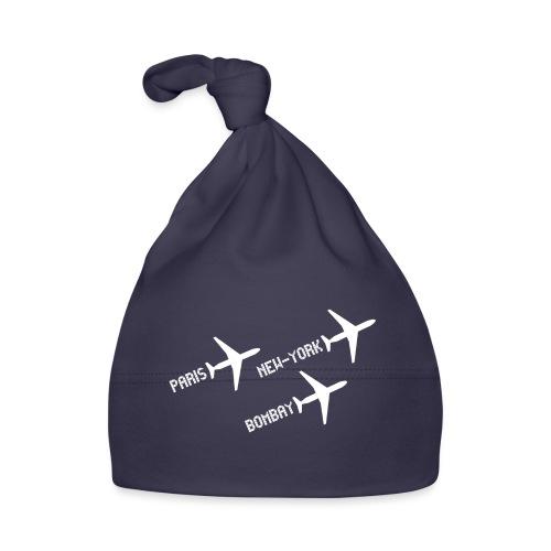 3 voyages avion white - Bonnet Bébé